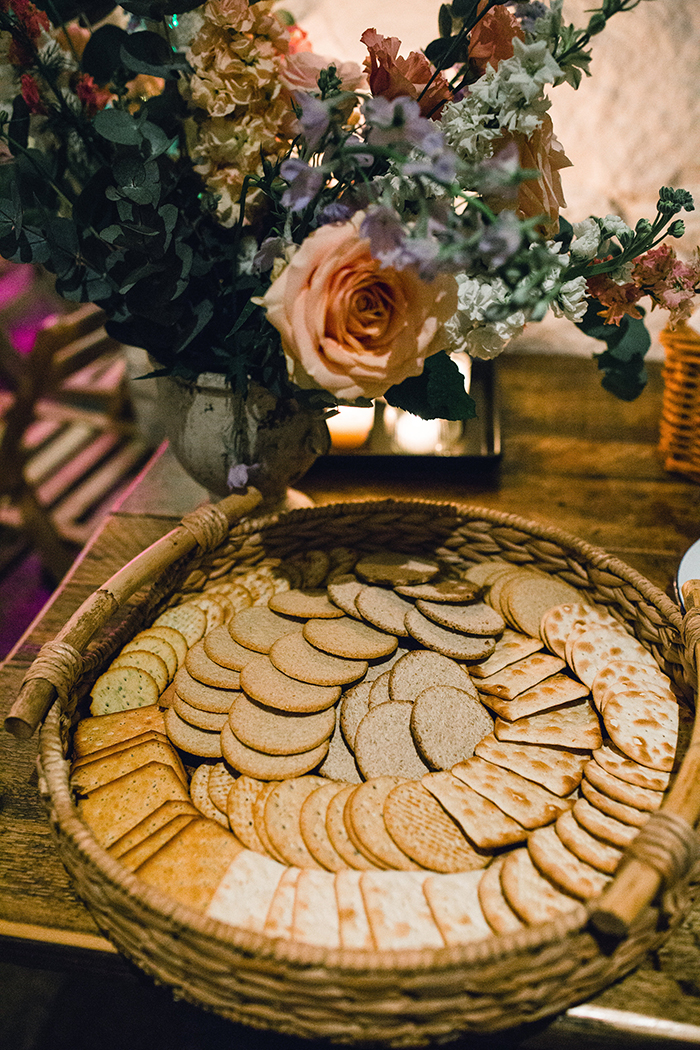Dalduff Farm rustic barn wedding The Gibsons biscuits
