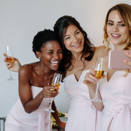 bridesmaids live in different countries