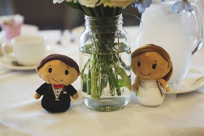Real Wedding at The Waterside Hotel Ayrshire. Laura A Tiliman Photography. Table decor