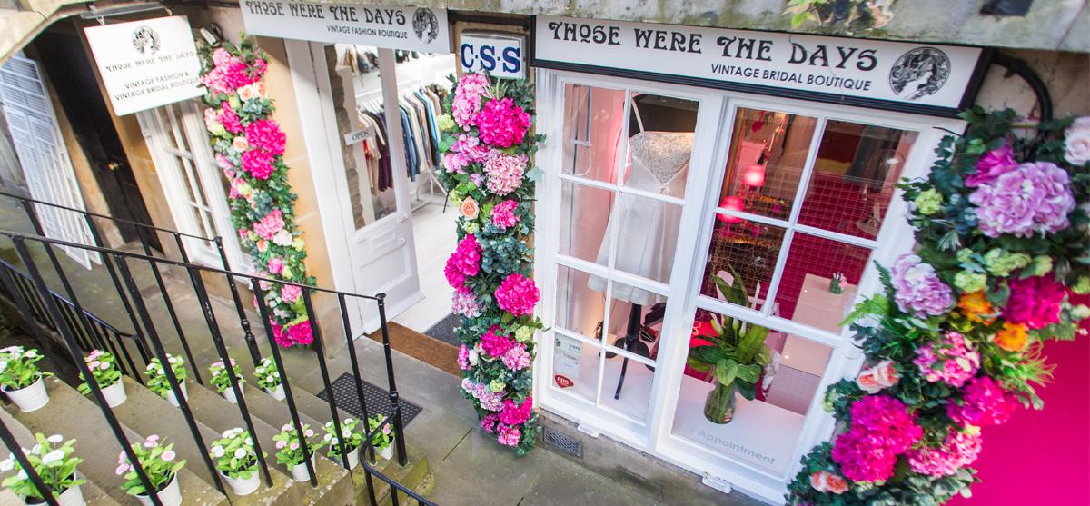 The wonderful world of vintage wedding dresses at Those Were The DaysVintage Bridal Boutique
