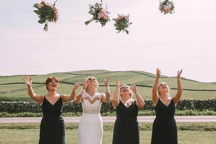 Scottish Borders marquee wedding