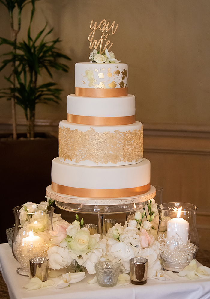 Why I Choose A Gold Lace Wedding Cake Scottish Wedding Directory