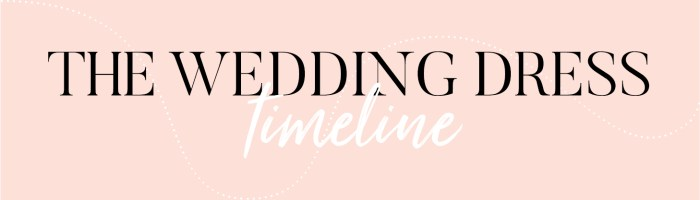 How to choose your wedding dress from start to finish