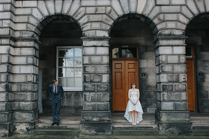 Scottish Elopement Edinburgh iris Art Photography Ceremony