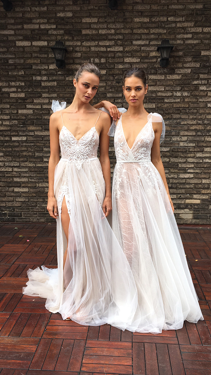 one-off wedding dress
