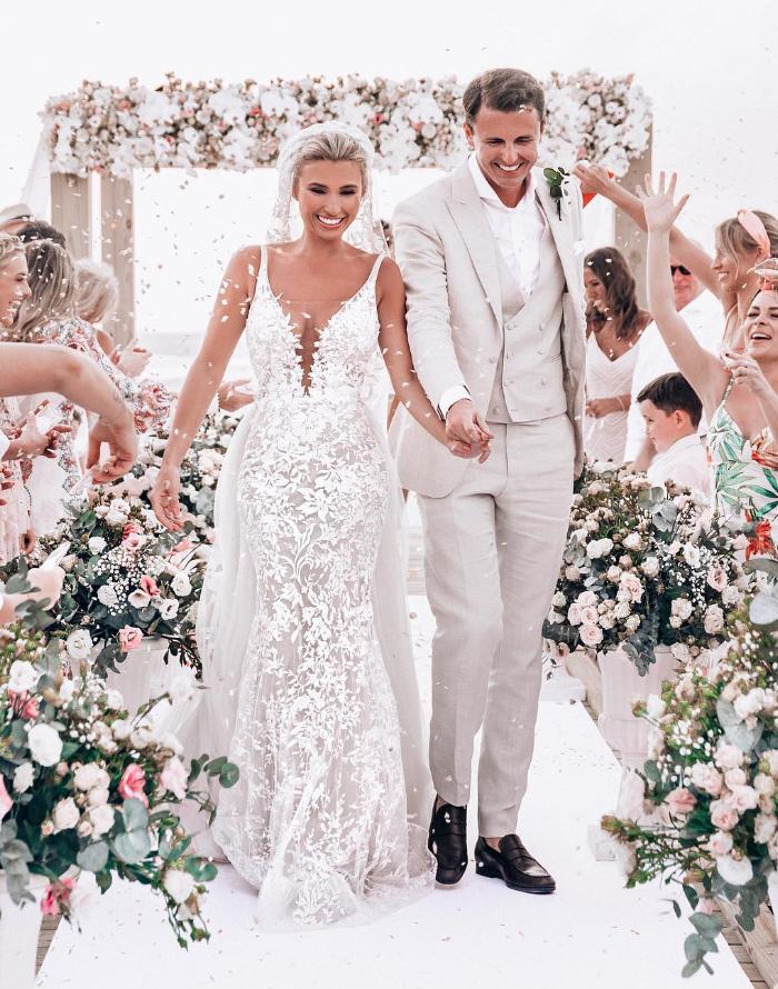 e136225e86e Here s where you can get Billie Faiers  exact Berta wedding dress in ...