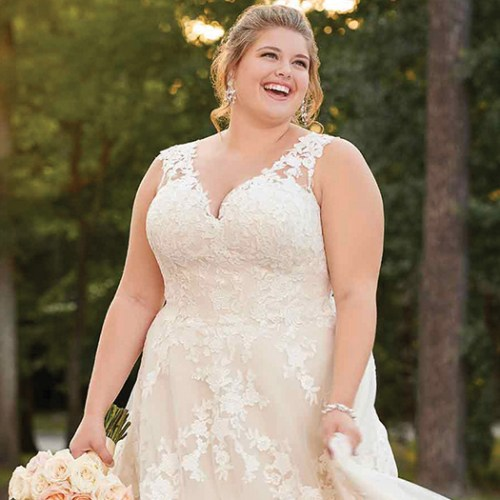 e9d3a09bab3 Ditch the pre-wedding diet  it s all about finding the right wedding dress  for you