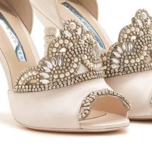 8a83a4451 Are these the most extra bridal shoes you ll see this year  We think so!