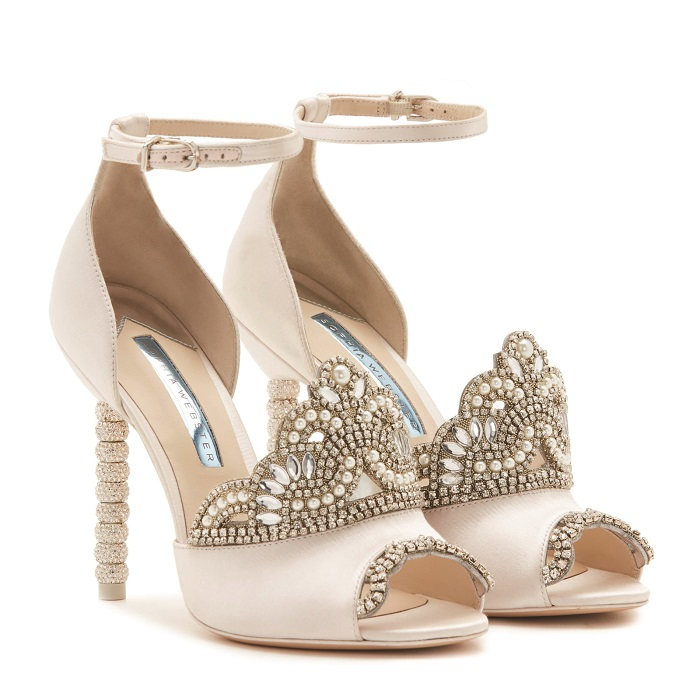 987f1529315f Are these the most extra bridal shoes you ll see this year  We think ...