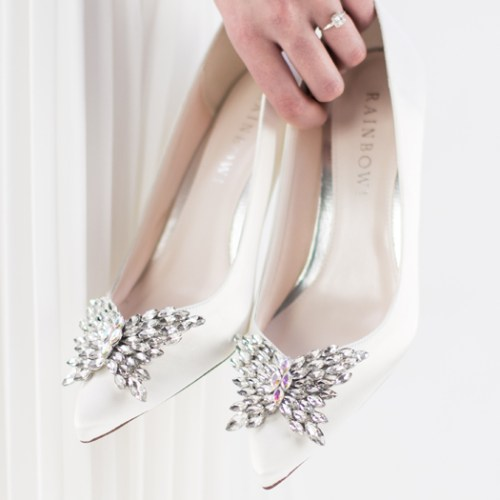 c940ed2518 A new wedding shoe range has hit the high street in the Rainbow Club x John  Lewis collab