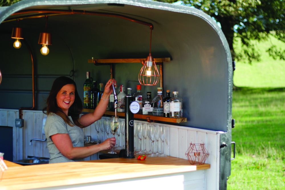 12 Lemons fizz and gin truck Scotland