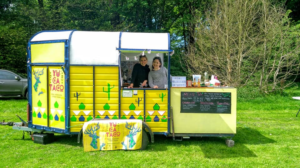 Taco truck hire wedding scotland