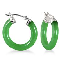 jade green earring