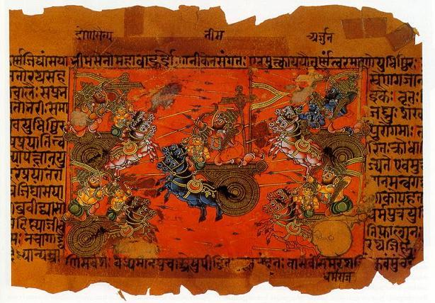 Mahabharata (via Wikipedia)