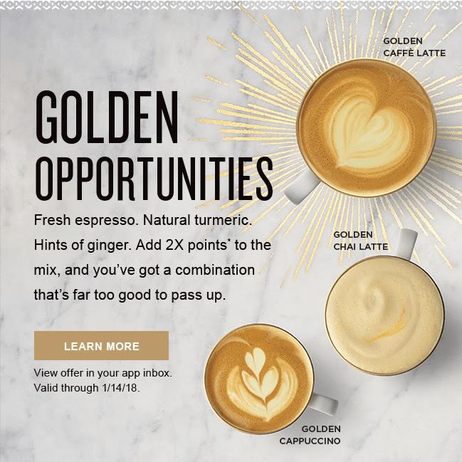 Peets ad for Turmeric Coffee