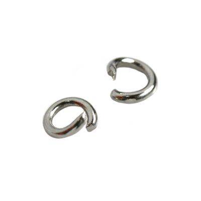 wholesale jump ring 4 mm surgical stainless steel 316