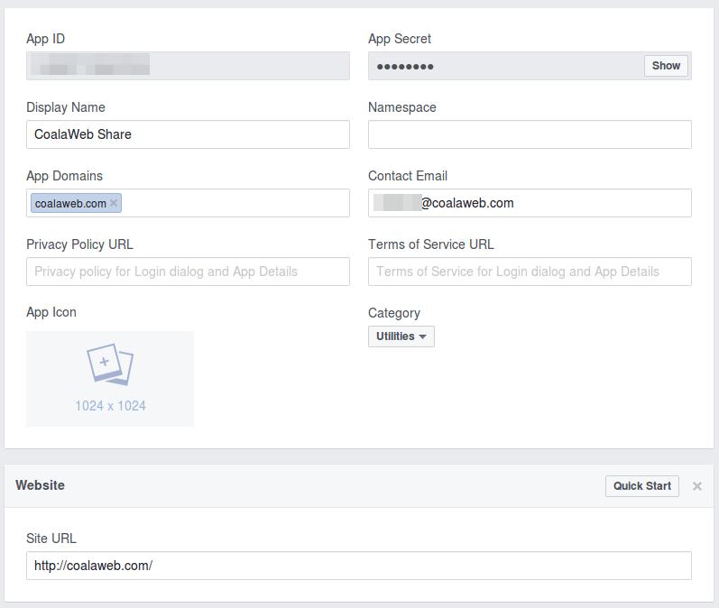 Facebook Application Guide