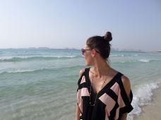 The beach at JBR, Dubai