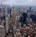 View of the city from Empire State Building