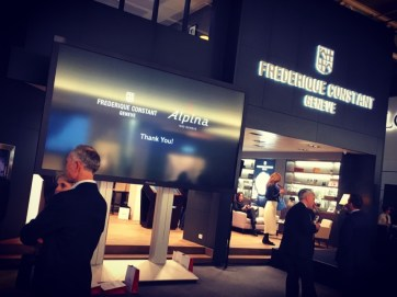 Baselworld 2016, Press Lunch at Frédérique Constant