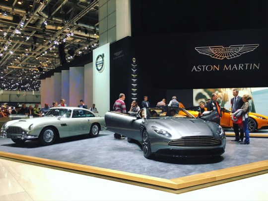 86th Geneva International Motor Show, Aston Martin