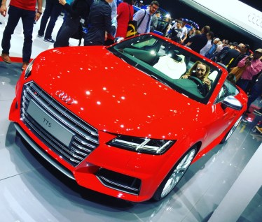 Geneva International Motor Show, Audi TTS