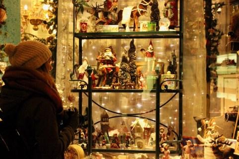 Christmas lights in Zurich