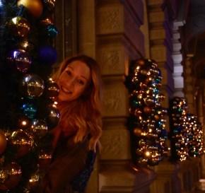Christmas lights in Zurich, Paradeplatz