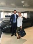 Maserati Zurich City-Showroom, with Stefano Battiston, Marketing & PR Manager Maserati Switzerland