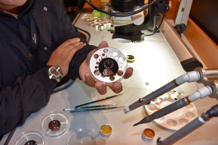 Baselworld 2017, Art piepes of Jaquet Droz