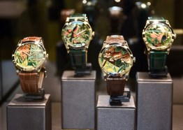 Baselworld 2017, Floral and Animals motives, Patek Philippe