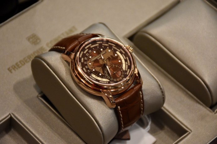 Baselworld 2017, Frederique Constant presented Classic Worldtimer Manufacture