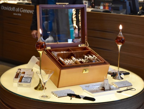 Presentation of Davidoff Chefs Edition