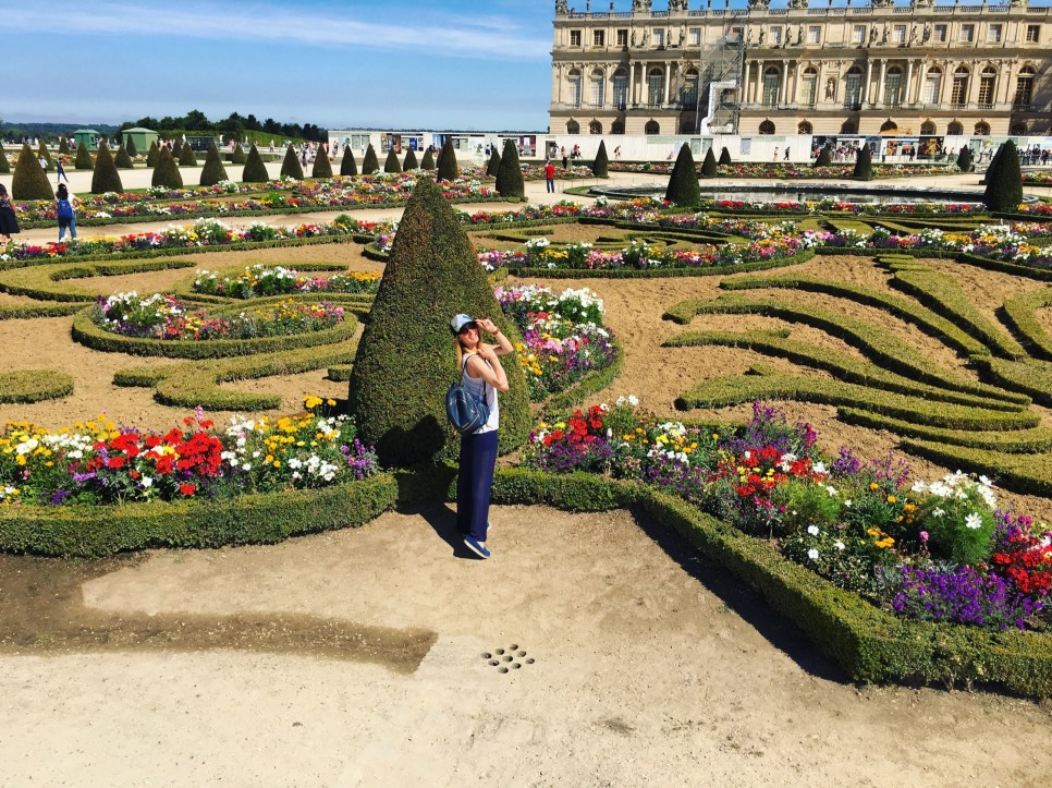 Paris, Palace of Versailles, the Gardens