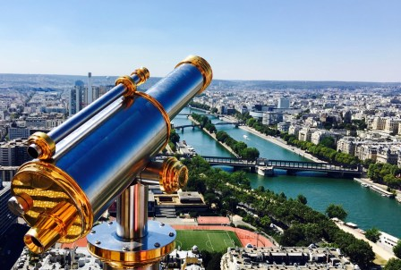 Paris, View from Eiffel Tower