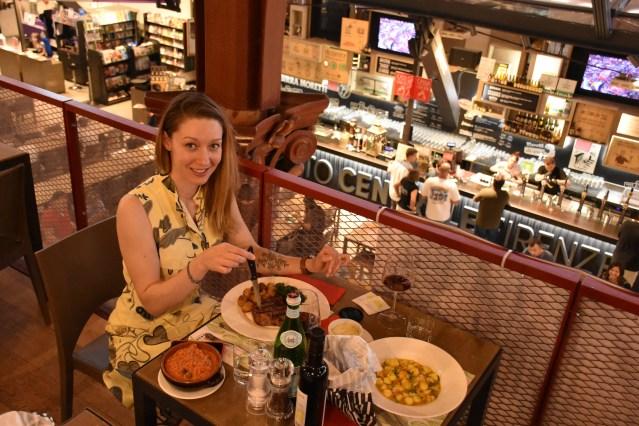 Dinner at the San Lorenzo Market