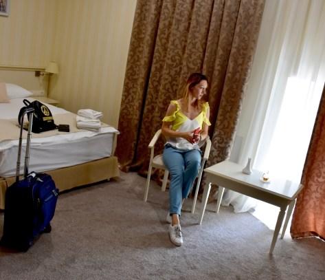 My room at the Pletnevskiy Inn Hotel, Kharkov, Ukraine