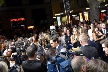 ZFF Opening Night, Green Carpet, Gala Premiere of BORG/McENROE