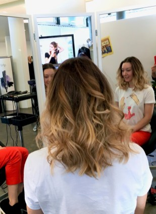 At the presentation of novelties from PAUL MITCHELL®, EVO and ghd. Styling by the new ghd curve® creative curl wand curling iron