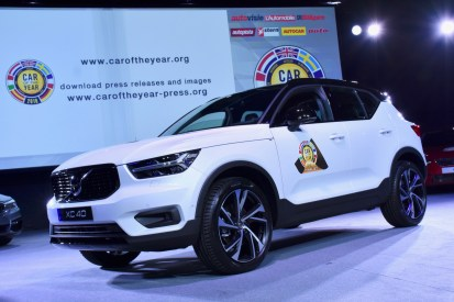 The winner of Car of the Year 2018 - VOLVO XC40