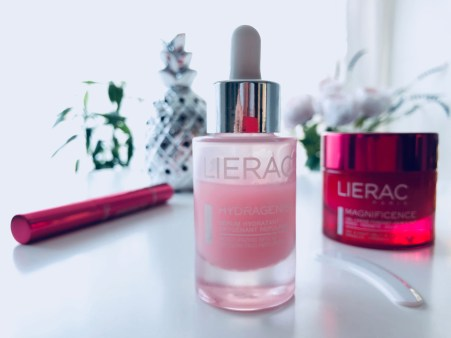 LIERAC Moisturizing Serum, LIERAC Magnificence Precision Eye Care, LIERAC Magnificence Day & Night Cream-Gel