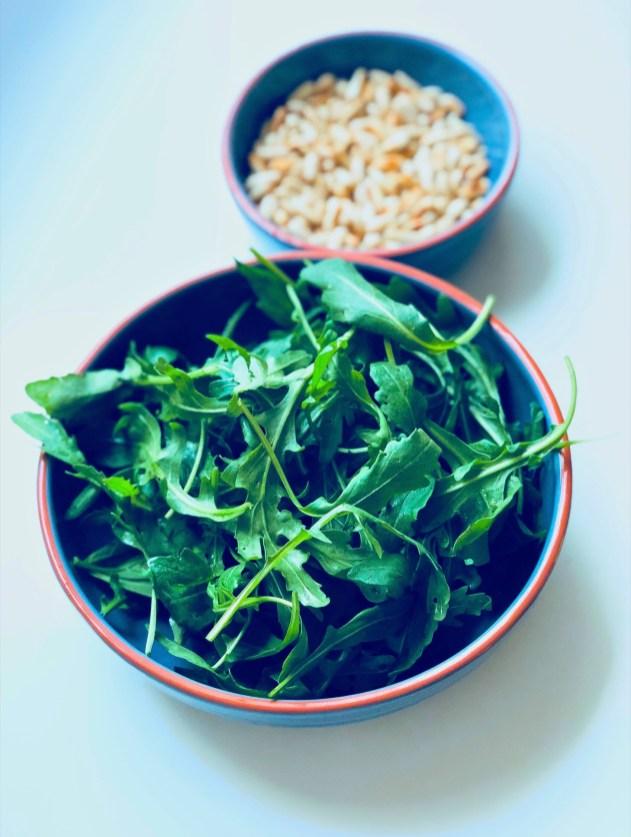 Recipe for the homemade pesto