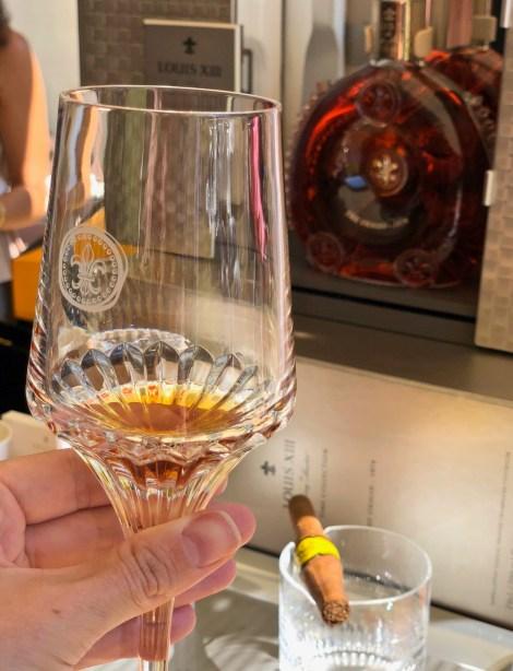 Concours d'Elégance Suisse, presentation of cognac LOUIS XIII
