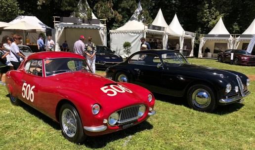 Concours d'Elégance Suisse, FIAT 8V RAPI CORSA, 1953