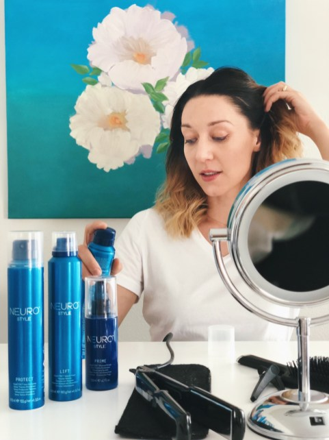Hairstyling with NEURO by PAUL MITCHELL®