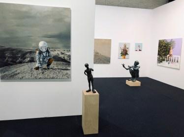 Kunst 18 Zürich, The Frankfurt gallery Greulich. Works by Tjark Ihmels and Casey McKee