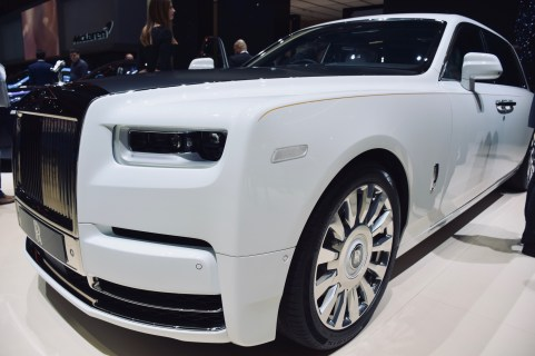 ROLLS ROYCE during Geneva International Motor Show 2019