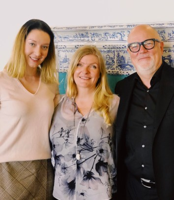 With Jeanette and Claus Thottrup, the founders of Seed To Skin