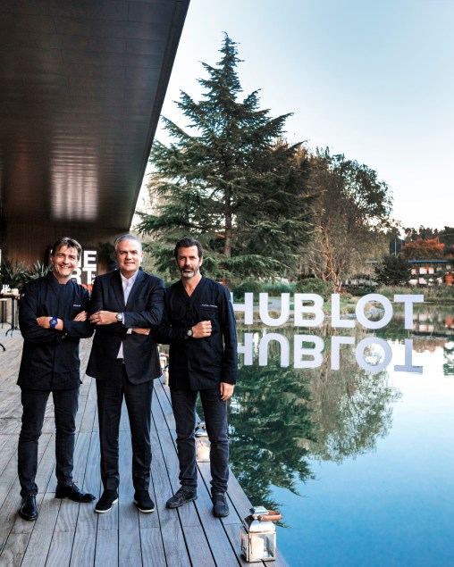 Hublot, The Art Of Fusion event at the gorgeous Enea Tree Museum park in Rapperswil, Switzerland