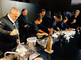 Hublot, The Art Of Fusion, an exclusive live cooking event, led by two 3* Michelin star Chefs, Yannick Alléno and Andreas Caminada